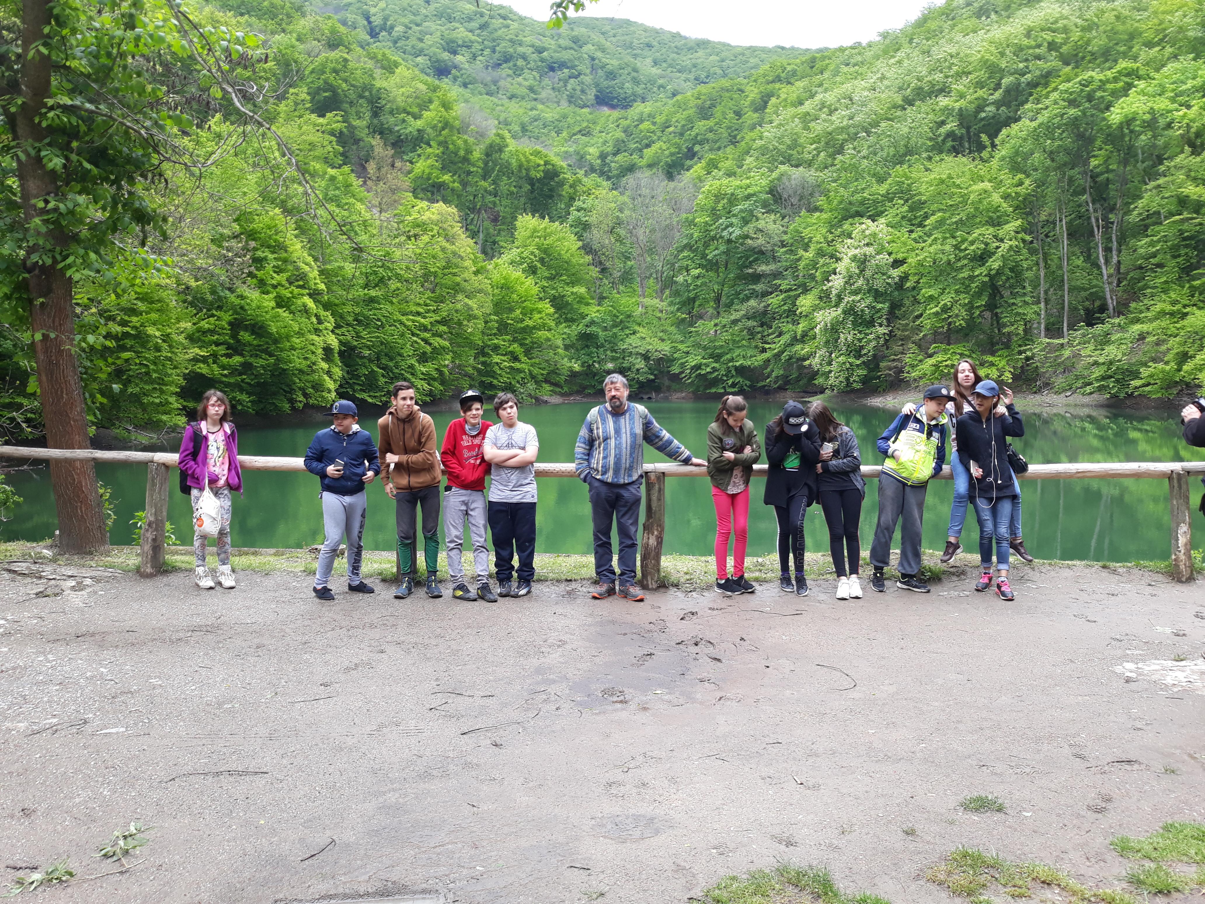 Gémes Természetjáró Egyesület csoportképe