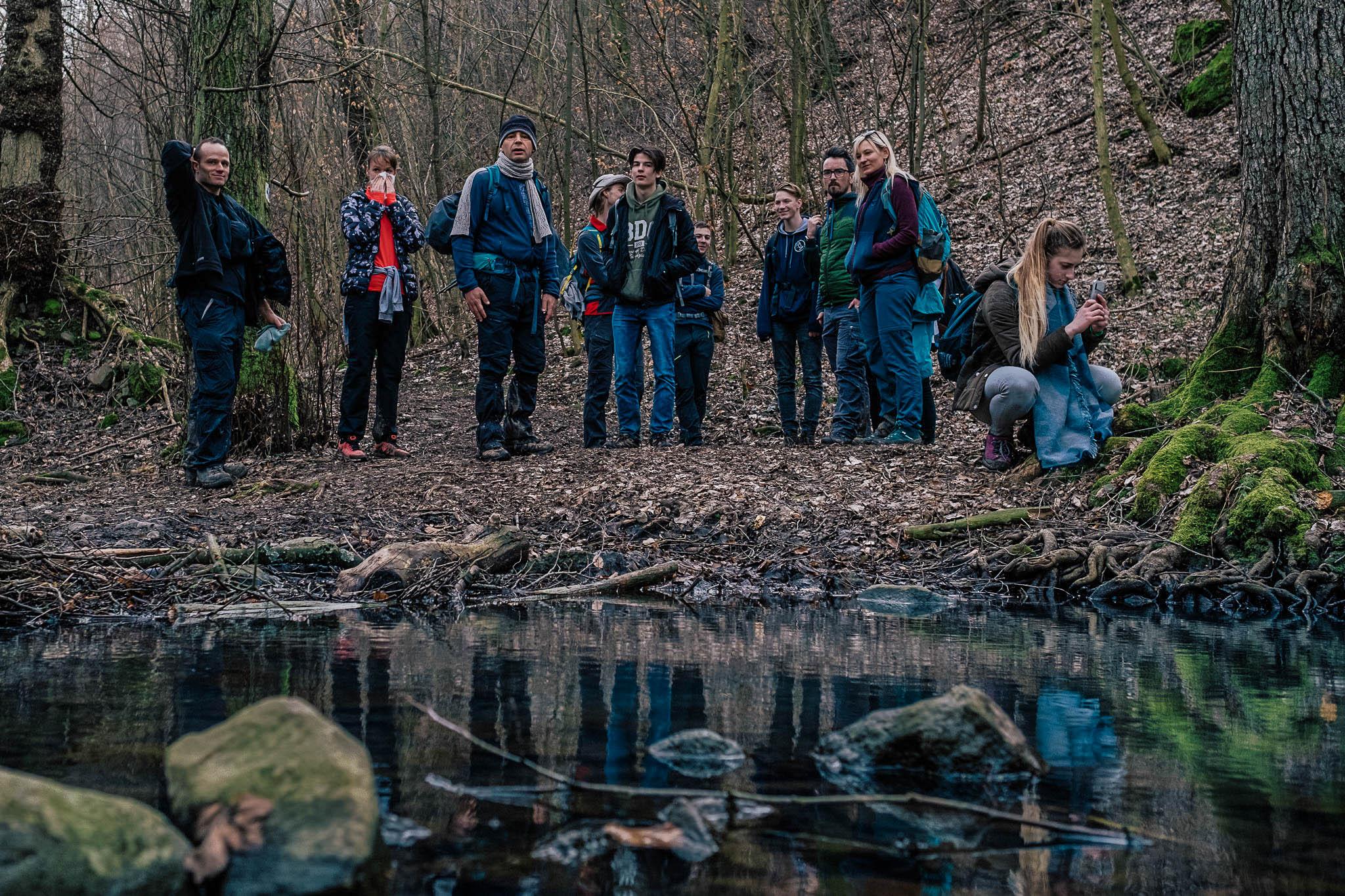 Erdőjáró Baráti Társaság csoportképe